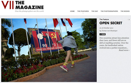 Laos Open Secret multimedia for VII The Magazine